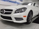 Used 2014 Mercedes-Benz CLS-Class CLS 550 4MATIC- NAV, sunroof, heated and cooled seats with a drivers massage chair too! Now that's a car! for sale in Edmonton, AB