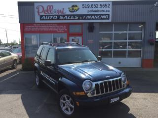 Used 2006 Jeep Liberty LIMITED|4X4|NO ACCIDENTS for sale in London, ON