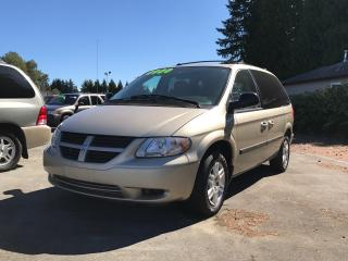Used 2006 Dodge Caravan No Accidents, Captain's Chairs, Power Group, Clean for sale in Surrey, BC