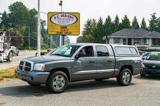Used 2005 Dodge Dakota Laramie 4.8L V8, Quad Cab, Loaded, 4x4, Leather! for sale in Surrey, BC