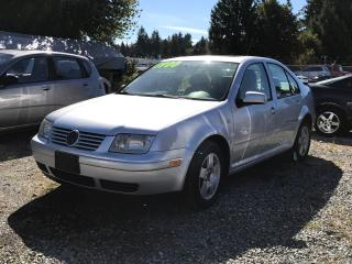 Used 2002 Volkswagen Jetta GLS Turbo, Local, No Accidents, Automatic, Sunroof for sale in Surrey, BC