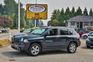Used 2008 Jeep Compass Sport SUV, Local, No Accidents, Rare Color, Clean! for sale in Surrey, BC