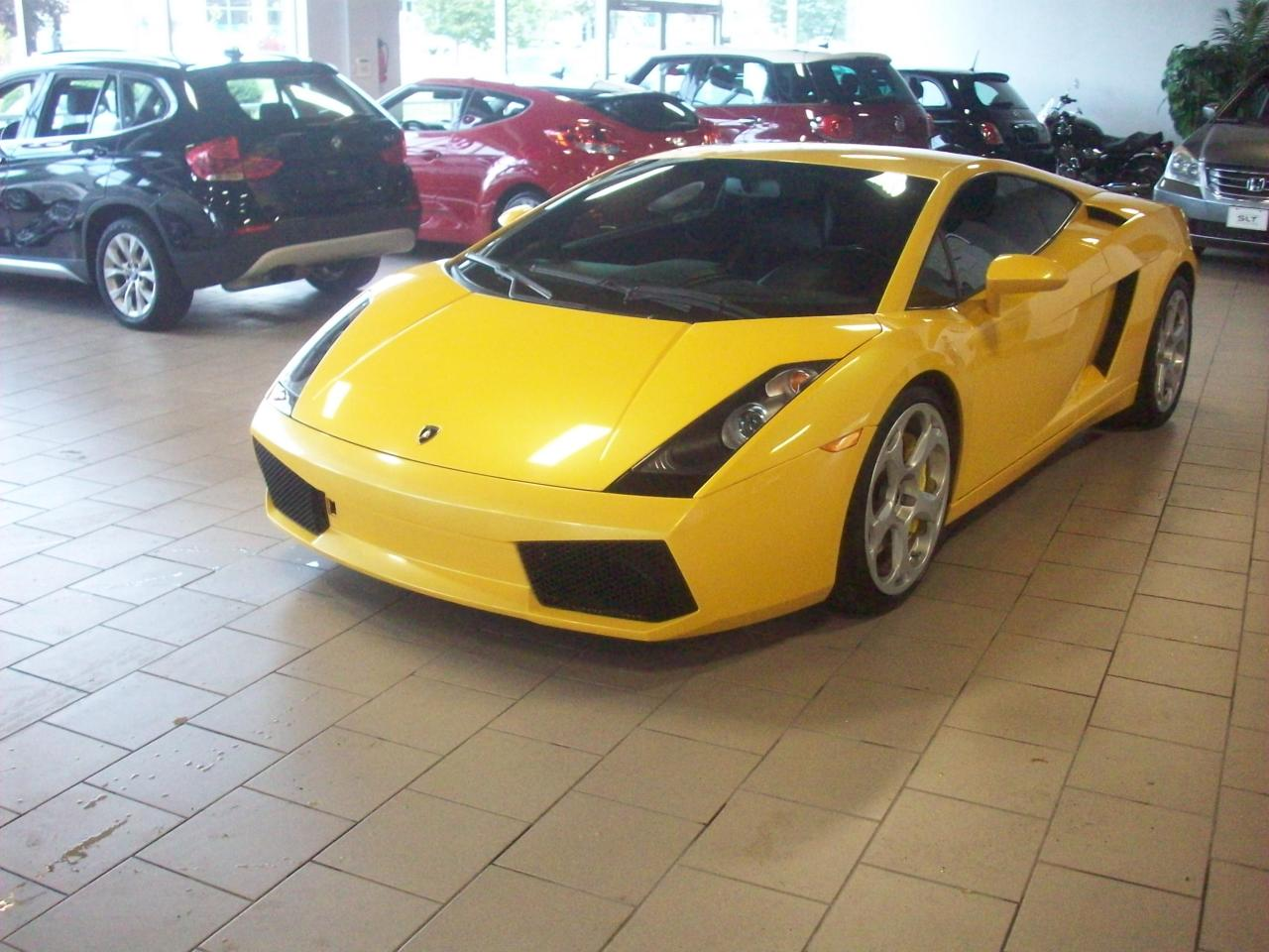 used 2004 lamborghini gallardo for sale in markham. Black Bedroom Furniture Sets. Home Design Ideas