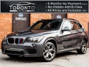 Used 2013 BMW X1 xDrive35i+M Performance+300HP+Pano roof+Rare for sale in North York, ON