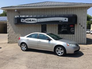 Used 2007 Pontiac G6 SE for sale in Mount Brydges, ON