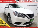 Used 2016 Nissan Sentra SV| LOW KM'S| BACK UP CAMERA| HEATED SEATS| for sale in Burlington, ON