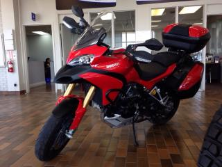 Used 2012 Ducati MULITSTRADA 1200S- 150 HP! ALL ORIGINAL! HARD SADDLE BAGS! for sale in Belleville, ON