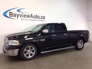 Used 2016 Dodge Ram 1500 LARAMIE- ECODIESEL! AIR RIDE! REM START! NAV! A/C! for sale in Belleville, ON