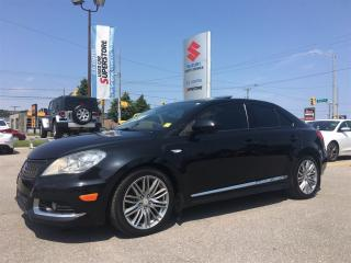 Used 2013 Suzuki Kizashi All-Wheel Drive ~Nav ~P/Sunroof ~P/Heated Leather for sale in Barrie, ON