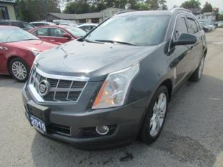 Used 2010 Cadillac SRX LOADED AWD 5 PASSENGER 2.8L - V6.. LEATHER.. HEATED SEARS.. PANORAMIC ROOF.. BLUETOOTH.. BOSE AUDIO.. ECO-MODE PACKAGE.. for sale in Bradford, ON