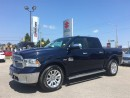 Used 2014 Dodge Ram 1500 Longhorn Crew 4X4 ~Nav ~Air Ride ~Eight Speed for sale in Barrie, ON