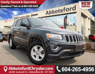Used 2015 Jeep Grand Cherokee Laredo LOCALLY OWNED! for sale in Abbotsford, BC