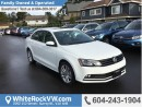 New 2017 Volkswagen Jetta Wolfsburg Edition RAIN SENSING WIPERS, BACK UP CAMERA, HEATED SEATS & SUNROOF for sale in Surrey, BC