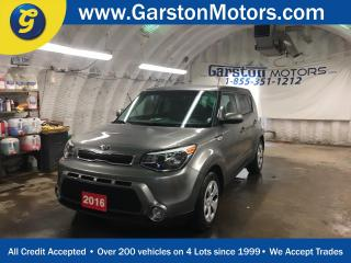 Used 2016 Kia Soul LX PLUS ECO*PHONE CONNECT*FOG LIGHTS*CLIMATE CONTROL*TRACTION CONTROL*ECO MODE* for sale in Cambridge, ON