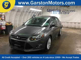 Used 2012 Ford Focus TITANIUM*NAVIGATION*POWER SUNROOF*LEATHER*HEATED FRONT SEATS*POWER DRIVER SEAT*MICROSOFT SYNC*SONY AUDIO*POWER WINDOWS/LOCKS/HEATED MIRRORS* for sale in Cambridge, ON