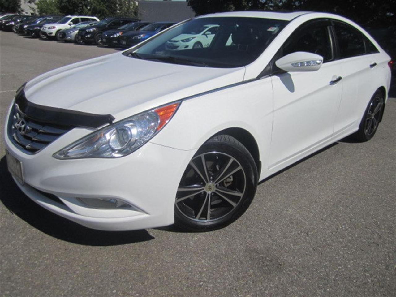 Photo of White 2011 Hyundai Sonata