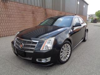 Used 2011 Cadillac CTS 3.6L - AWD - NAVIGATION - CAMERA - PANO ROOF for sale in Etobicoke, ON