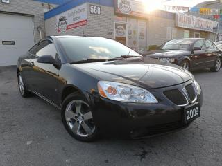 Used 2009 Pontiac G6 GT  Clean Carproof_Low KMS for sale in Oakville, ON