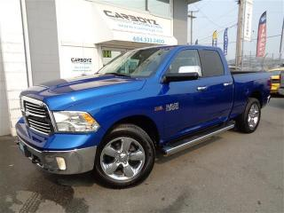 Used 2015 Dodge Ram 1500 Big Horn, Quad 6.5 Box, Luxury Group for sale in Langley, BC