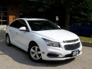 Used 2016 Chevrolet Cruze LT,BackUp Cam,Leather,CERT for sale in Concord, ON