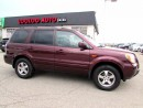 Used 2007 Honda Pilot EX-L 4x4 8 PASSENGER LEATHER SUNROOF CERTIFIED 2YR for sale in Milton, ON