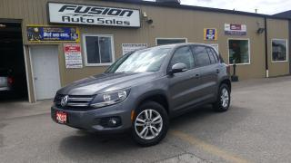 Used 2013 Volkswagen Tiguan Trendline-AWD-1 OWNER OFF LEASE-HEATED SEATS for sale in Tilbury, ON