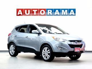 Used 2012 Hyundai Tucson LIMITED LEATHER PAN SUNROOF 4WD for sale in North York, ON