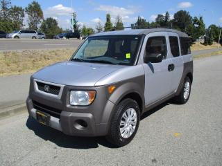 Used 2004 Honda Element w/Y Pkg for sale in Surrey, BC