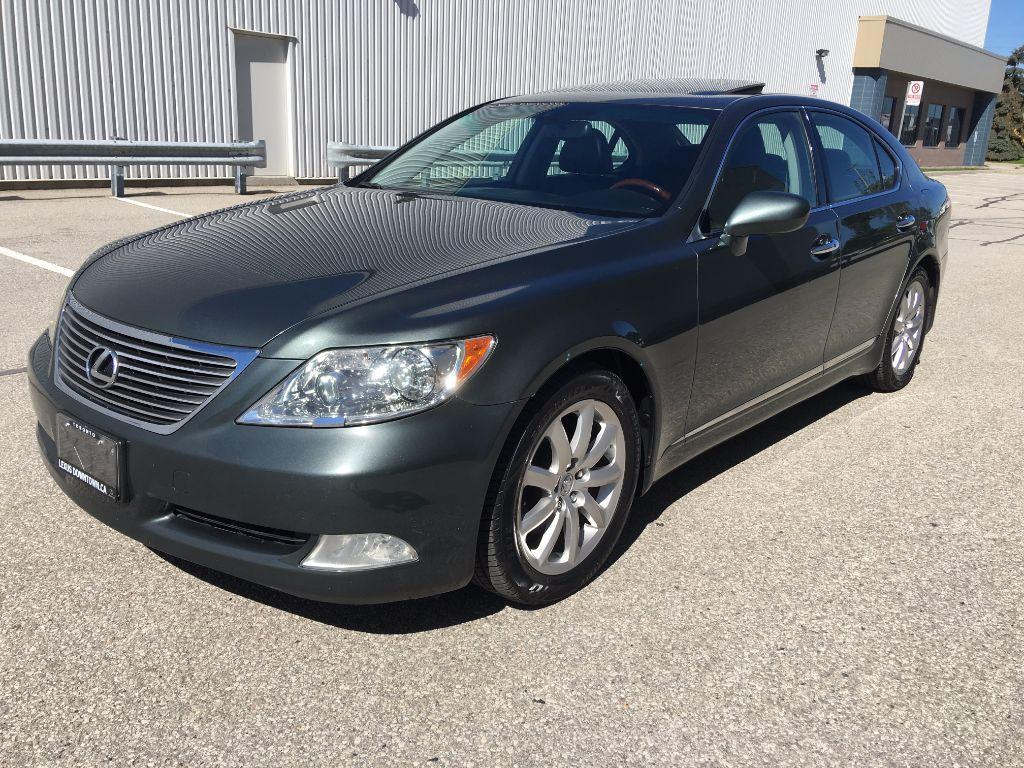 used 2007 lexus ls 460 swb for sale in mississauga ontario. Black Bedroom Furniture Sets. Home Design Ideas