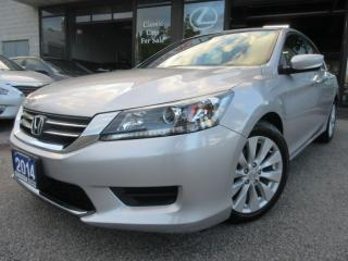Used 2014 Honda Accord CAMERA-ALLOYS-HEATED-BLUETOOTH-FACTORY WARRANTY for sale in Scarborough, ON