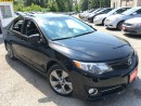 Used 2012 Toyota Camry SE/AUTO/LEATHER/NAVI/SUNROOF/ALLOYS for sale in Pickering, ON
