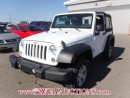Used 2015 Jeep WRANGLER SPORT 2D UTILITY 4WD 3.6L for sale in Calgary, AB