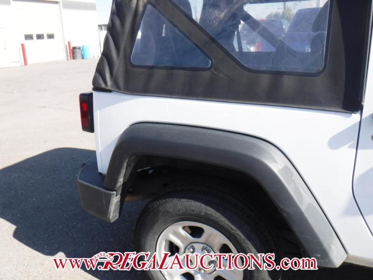 2015 Jeep WRANGLER SPORT 2D UTILITY 4WD 3.6L