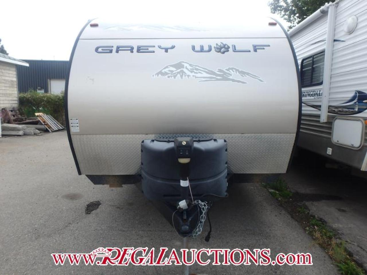 2014 Forest River GREYWOLF 26DBH  TRAVEL TRAILER