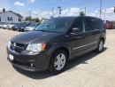Used 2015 Dodge GRAND CARAVAN CREW * 2 DVD'S * LEATHER * REAR CAM * NAV * 7 PASS for sale in London, ON