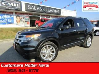 Used 2014 Ford Explorer XLT  LEATHER, ROOF, NAV,  HTD-SEATS, CAMERA, 7-PASS! for sale in St Catharines, ON