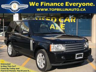 Used 2008 Land Rover Range Rover HSE Navigation, Sunroof, Leather for sale in Concord, ON