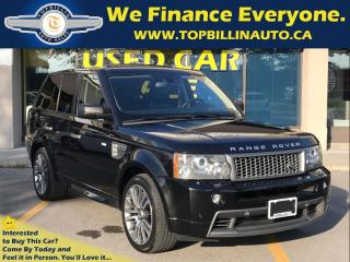 Used 2009 Land Rover Range Rover Sport Supercharged, Fully Loaded, 2 YEARS WARRANTY for sale in Concord, ON