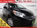 Used 2016 Nissan Versa Note SV| BACK UP CAMERA| WE WANT YOUR TRADE| for sale in Burlington, ON