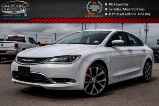 Used 2016 Chrysler 200 C|Navi|Pano Sunroof|Backup Cam|Bluetooth|R- Start|Leather|19