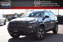 Used 2016 Jeep Cherokee Trailhawk|4x4|Navi|Backup Cam|Bluetooth|Keyless entry|17