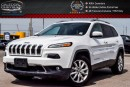 Used 2016 Jeep Cherokee Limited|4x4|Navi|Backup Cam|Bluetooth|Leather|R-Start|Keyless Entry|18