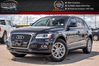 Used 2014 Audi Q5 3.0L TDI Progressiv|Quattro|Pano Sunroof|Backup Cam|Bluetooth|Leather|Keyless entry|18