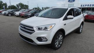 New 2017 Ford Escape Titanium, AWD, 245hp, Tech Pkg, FordPass for sale in Stratford, ON