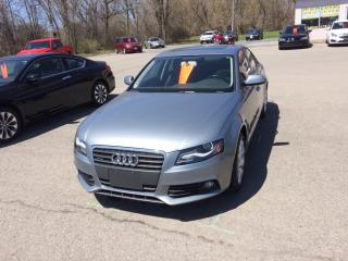 Used 2011 Audi A4 2.0T for sale in Morrisburg, ON