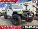 Used 2014 Jeep Wrangler Unlimited Sport $1000'S IN AFTER MARKET UPGRADES for sale in Abbotsford, BC
