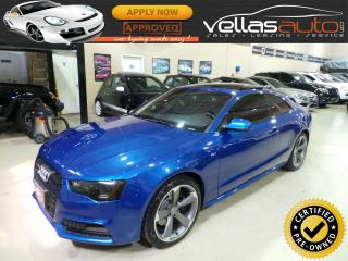 Used 2016 Audi S5 3.0T Technik plus TECHNIK PLUS| 3.0T| 6SP| NAVI| PANO RF for sale in Woodbridge, ON