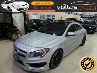 Used 2016 Mercedes CLA-Class 45 AMG  4MATIC  NAVI  PANORAMIC RF for sale in Woodbridge, ON