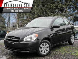 Used 2010 Hyundai Accent SE 3-Door for sale in Stittsville, ON
