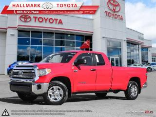 Used 2016 Toyota Tundra 4X4 Dbl Cab SR5 Long Bed 5.7 6A for sale in Mono, ON